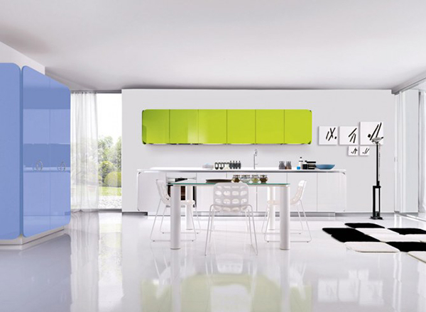 Kolory w kuchni dzięki systemowi IT-IS od Euromobil