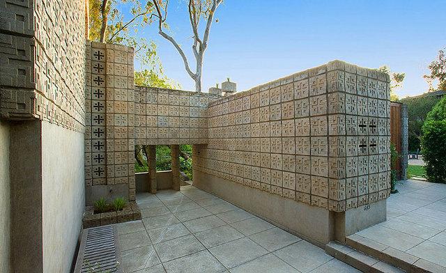 Motyw przewodni domu Alice Millard w Pasadenie - design by Frank Lloyd Wright