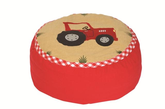 Pufa traktor - fot. Żyrafy z szafy