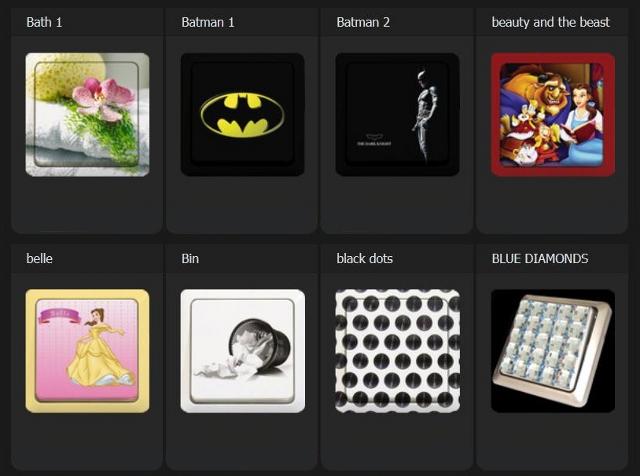 Włącznik z Batmanem - czemu nie. Te i inne warianty od od Aly Store