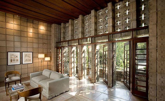 Wnętrze robi wrażenie - design by Frank Lloyd Wright