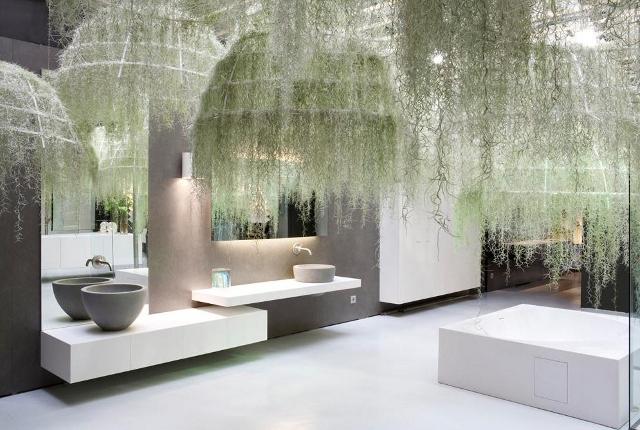 Zastosowanie Rainforest w łazience - Boffi