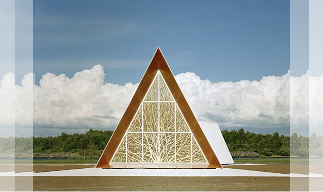 The Ecumenical Chapel od AOA Architects - front