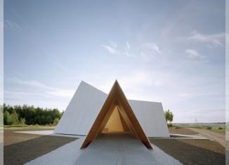 The Ecumenical Chapel od AOA Architects - wejście