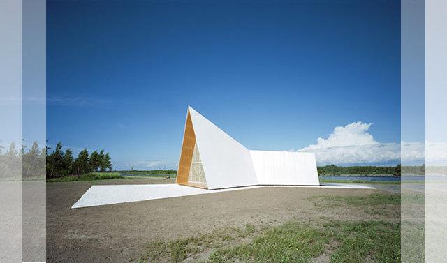 The Ecumenical Chapel od AOA Architects - widok boczny