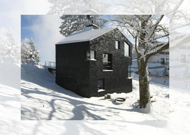 czarne na białym (Ferienhaus Girardi by Philip Lutz)