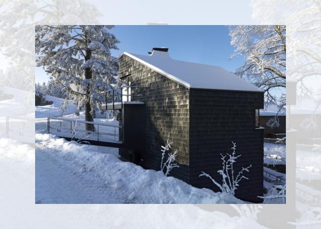 czarny dom (Ferienhaus Girardi by Philip Lutz)