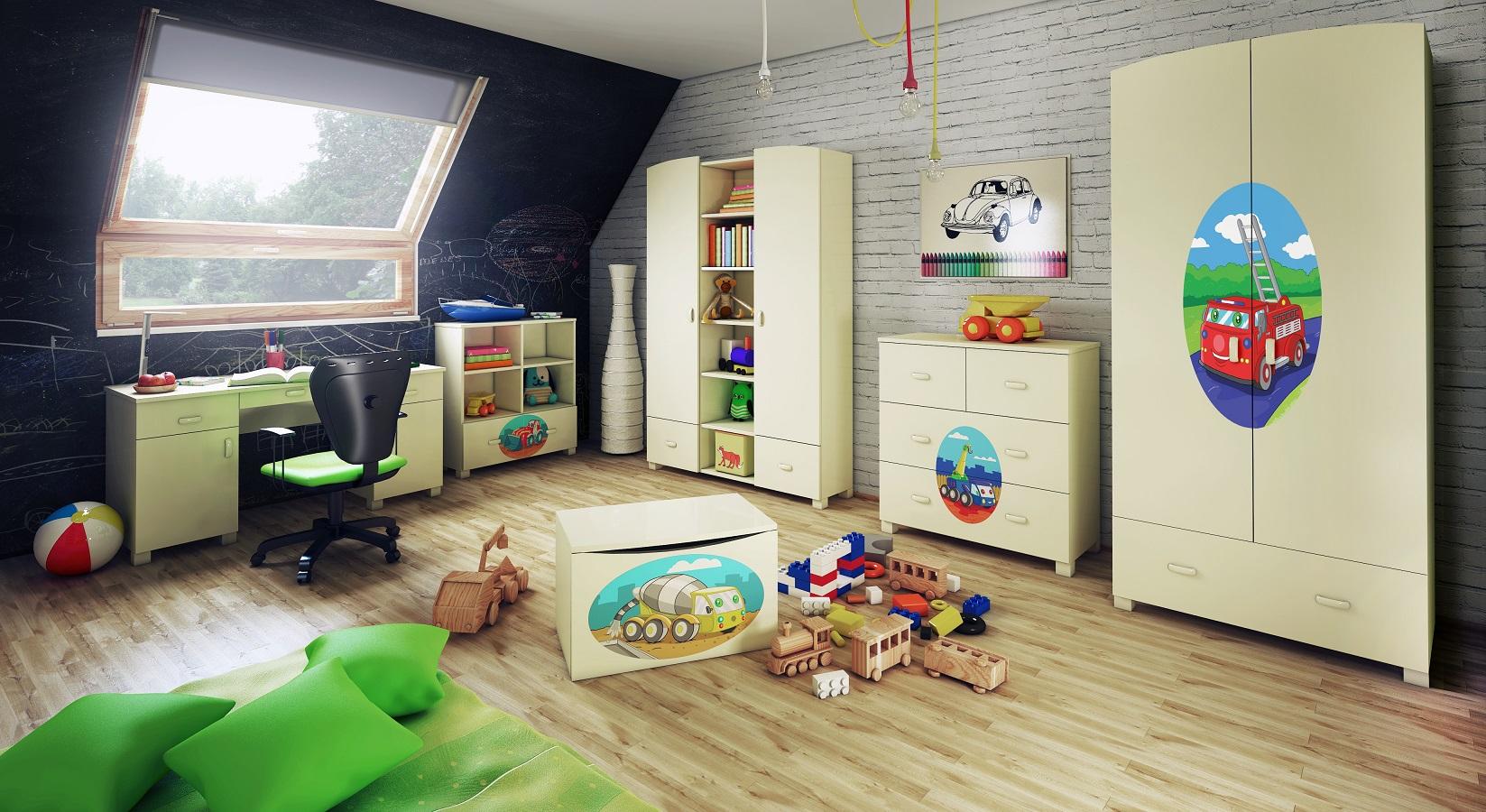 Design dziecięcy, którego nie powstydzi się również młodzieżowiec :)