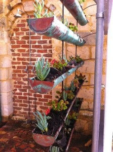 Upcycled-Gutter-Garden