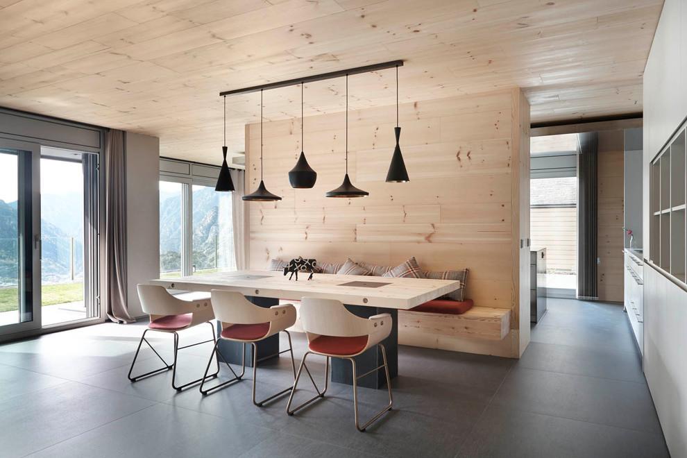 Drewniane wnętrze od Coblonal Aquitercure