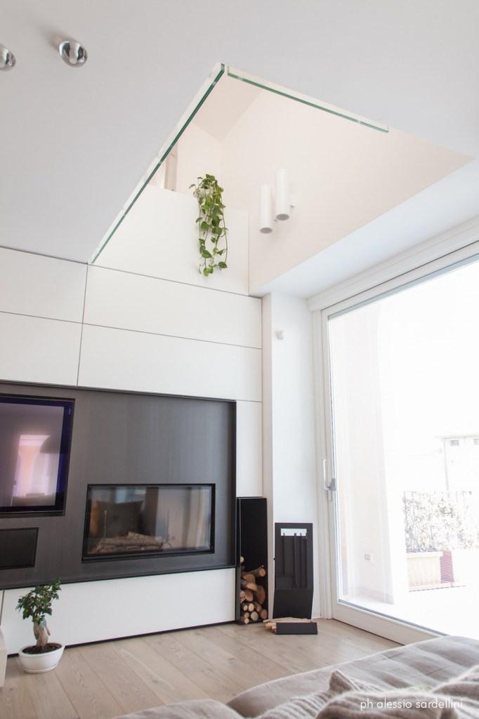 Apartament otwarty na piętro