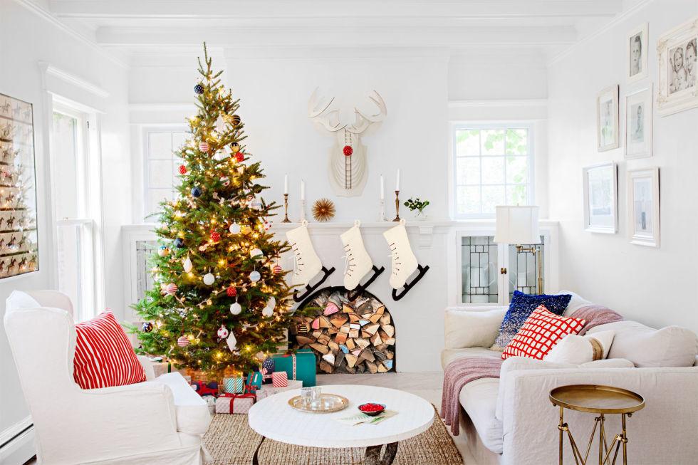 choinka świąteczna - wspaniała dekoracja