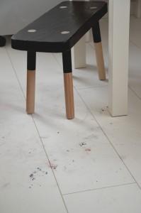 panele podłogowe powinny być czyszczone na bieżąco, gdy tylko pojawi się taka potrzeba